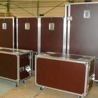 ensemble de flight case betonex sur mesure france