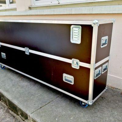 flight case betonex avec grille d'aération