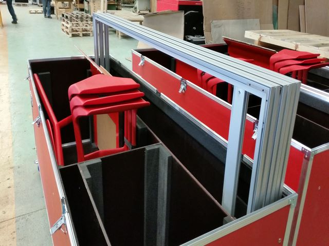 flight case polycarbonate sur mesure